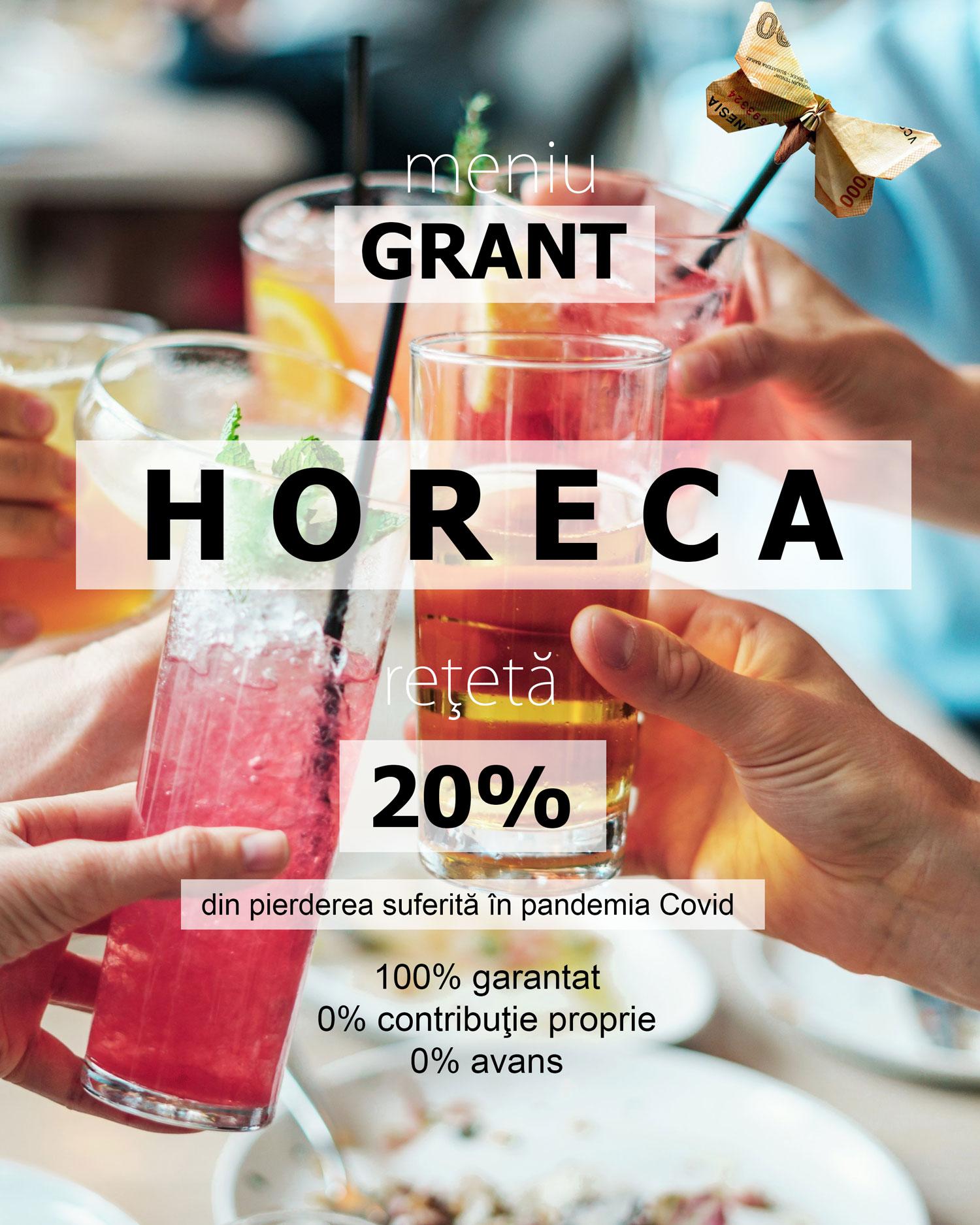 Grant Horeca 20% 2021